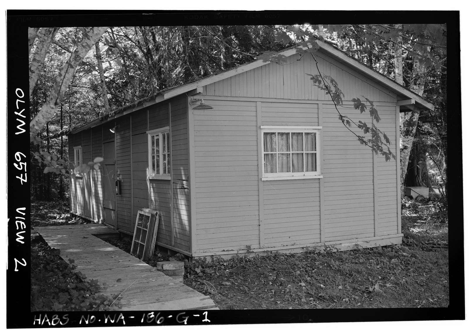 Singer's Lake Crescent Tavern, Employees-Boys Dorm, Barnes Point, Lake Crescent, Port Angeles, Clallam County, WA