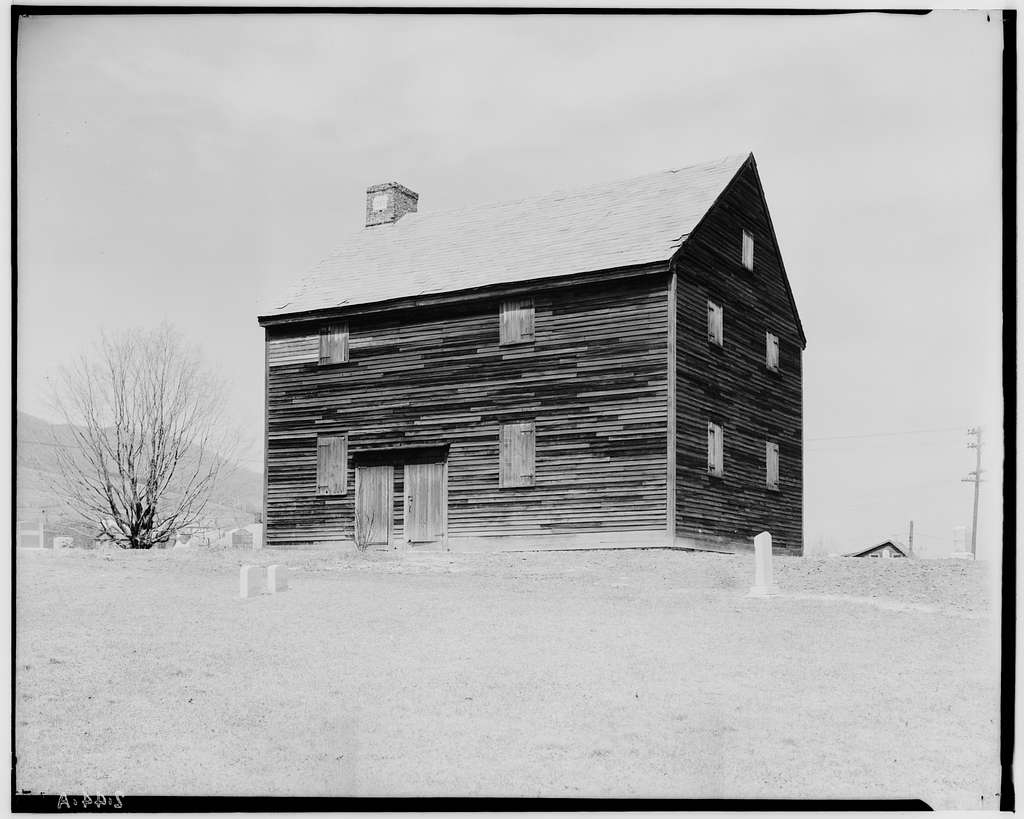 Society of Friends Meetinghouse, West Road & Maple Street, Adams, Berkshire County, MA