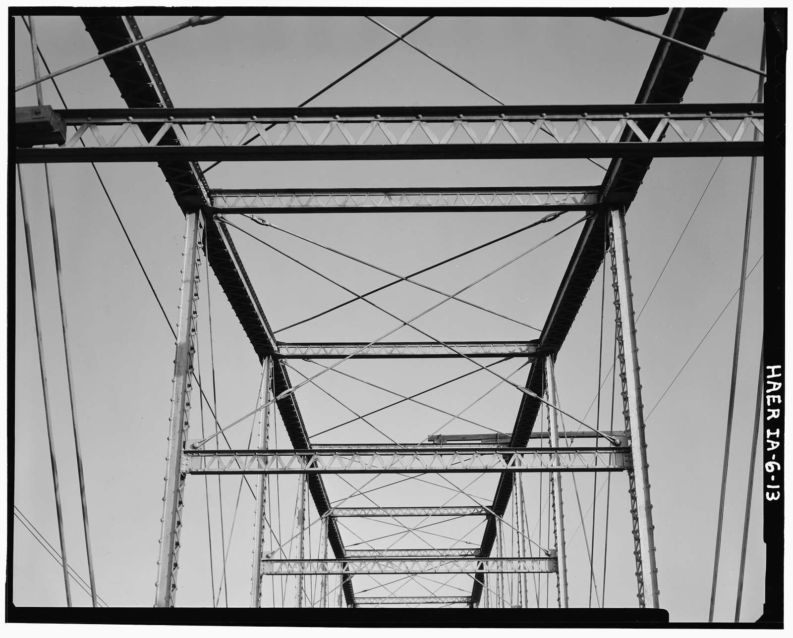 Sutliff's Ferry Bridge, Spanning Cedar River (Cedar Township), Solon, Johnson County, IA