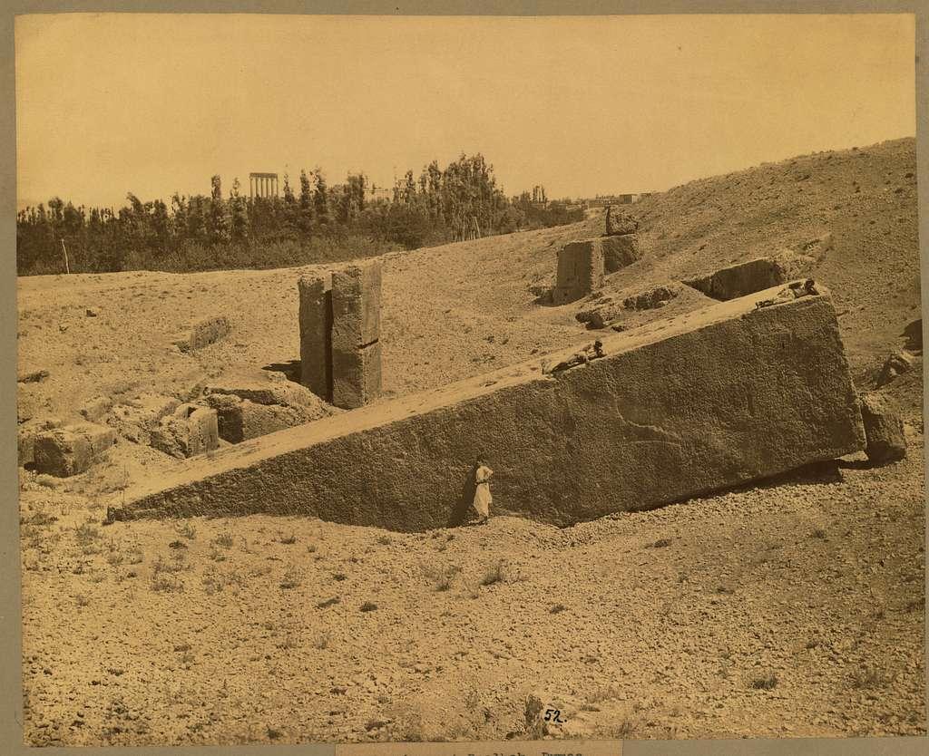 Un piere at Baalbek
