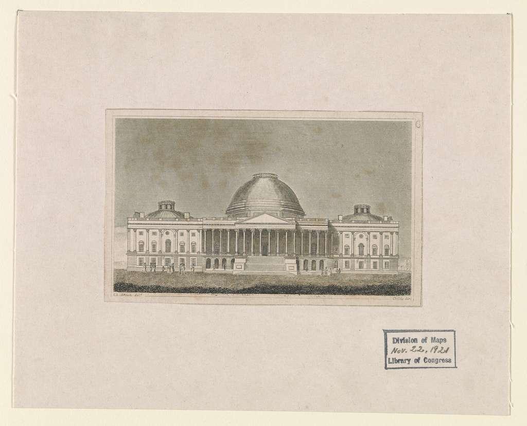 [United States Capitol] / C. Bullfinch delt. ; Childs dir.