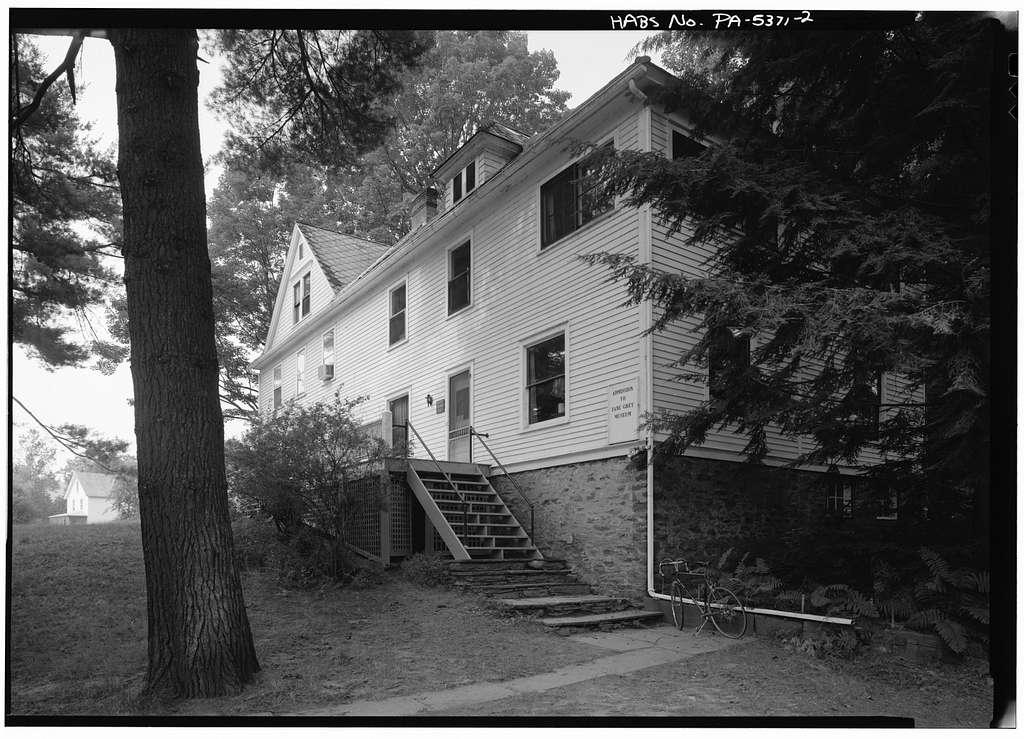 Zane Grey House, West side of Scenic Drive, Lackawaxen, Pike County, PA