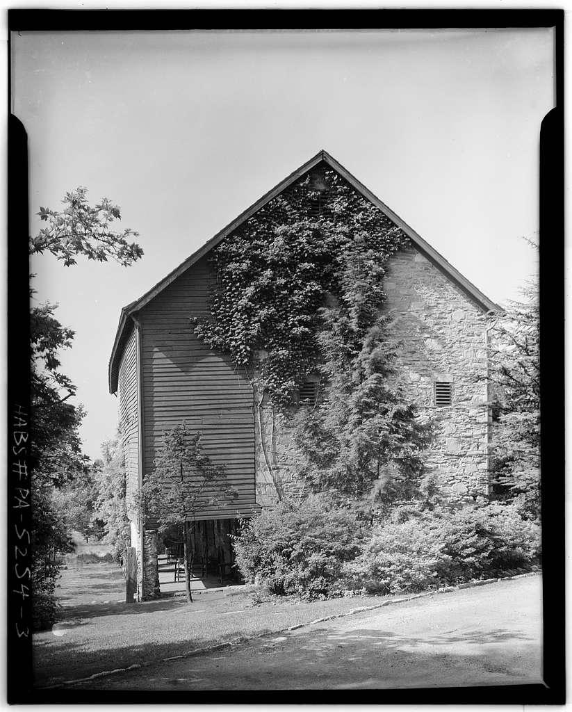 Andorra Inn Barn, Ridge & Butler Pikes, Conshohocken, Montgomery County, PA