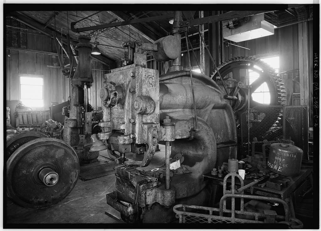 Cambria & Indiana Railroad, Blacksmith Shop, .25 miles northwest of Colver, Colver, Cambria County, PA