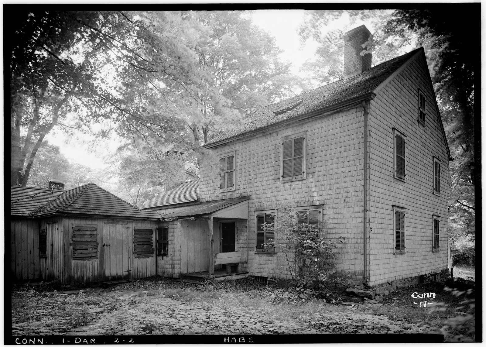 Clock-Turner House, 1830 Boston Post Road, Darien, Fairfield County, CT