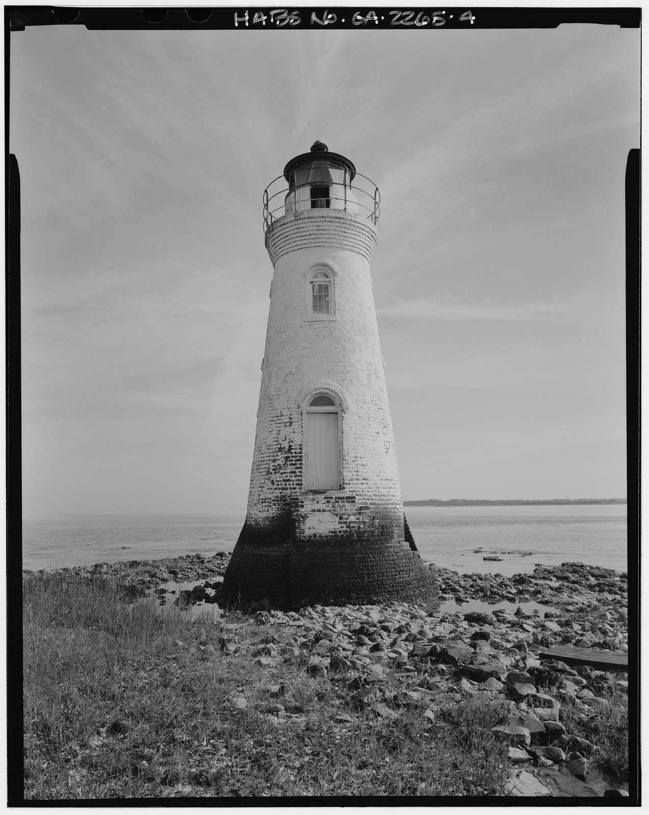 Cockspur Lighthouse, Cockspur Island, Savannah River, Savannah, Chatham County, GA