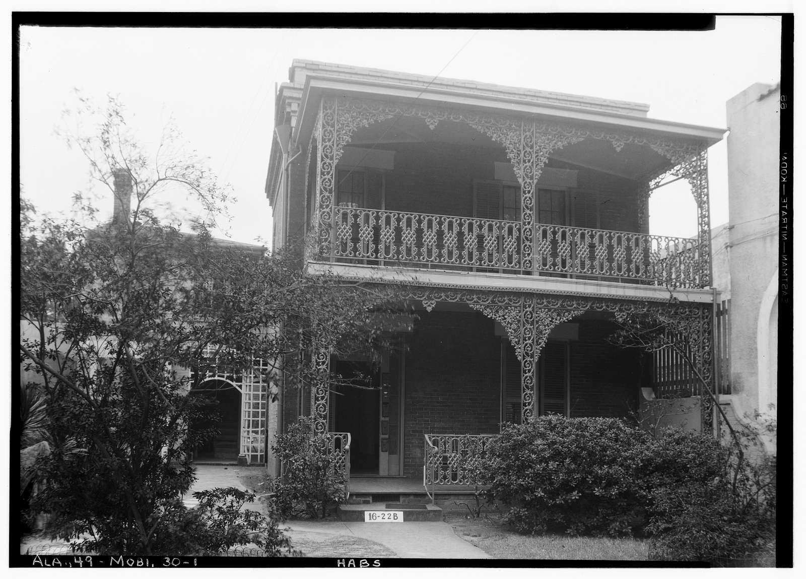 DuMont House, 157 Church Street, Mobile, Mobile County, AL