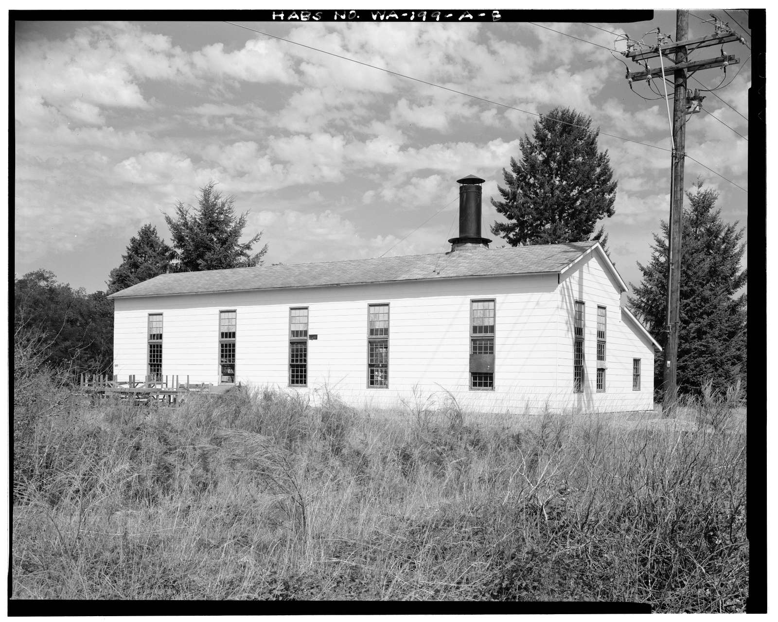 Fort Lewis, Locomotive Shelter, South side of South Drive, DuPont, Pierce County, WA