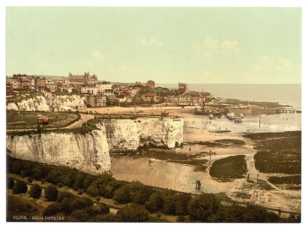 [From the cliffs, Broadstairs, England]