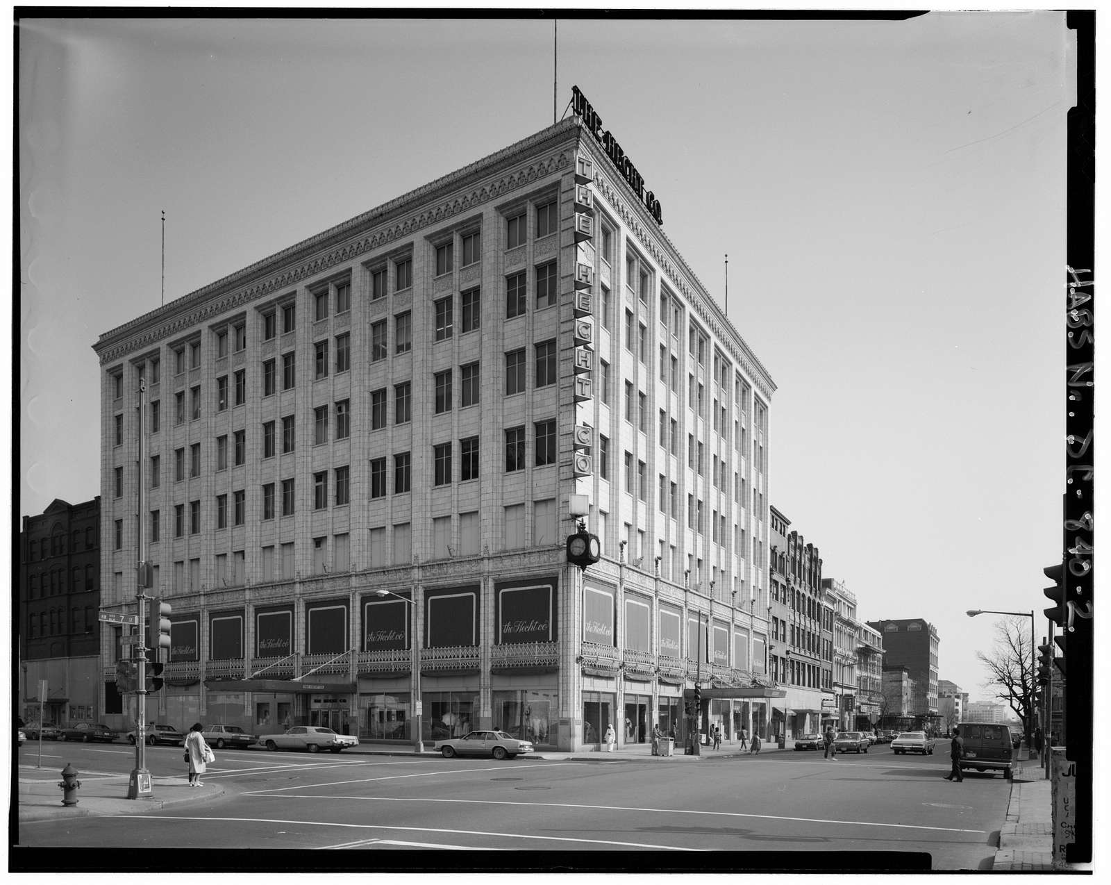 Hecht Company Building (Commercial), Seventh & F Streets, Northwest, Washington, District of Columbia, DC