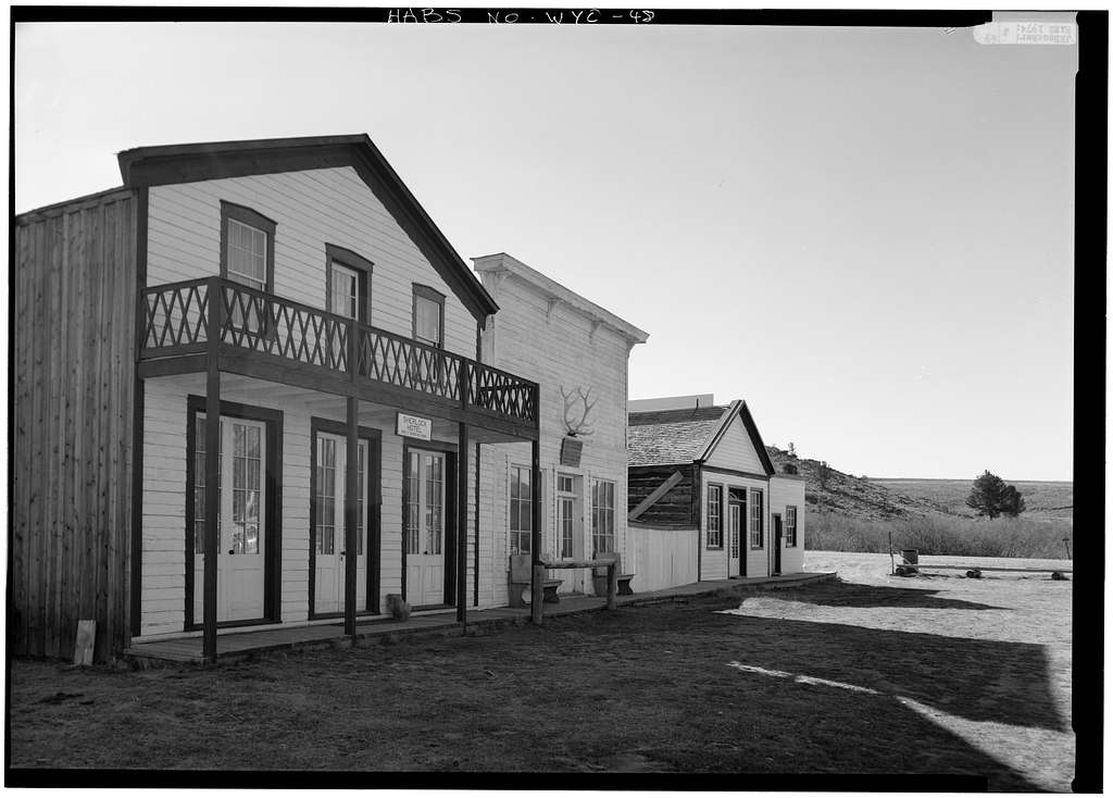 Idaho House, South Pass Avenue, South Pass City, Fremont County, WY