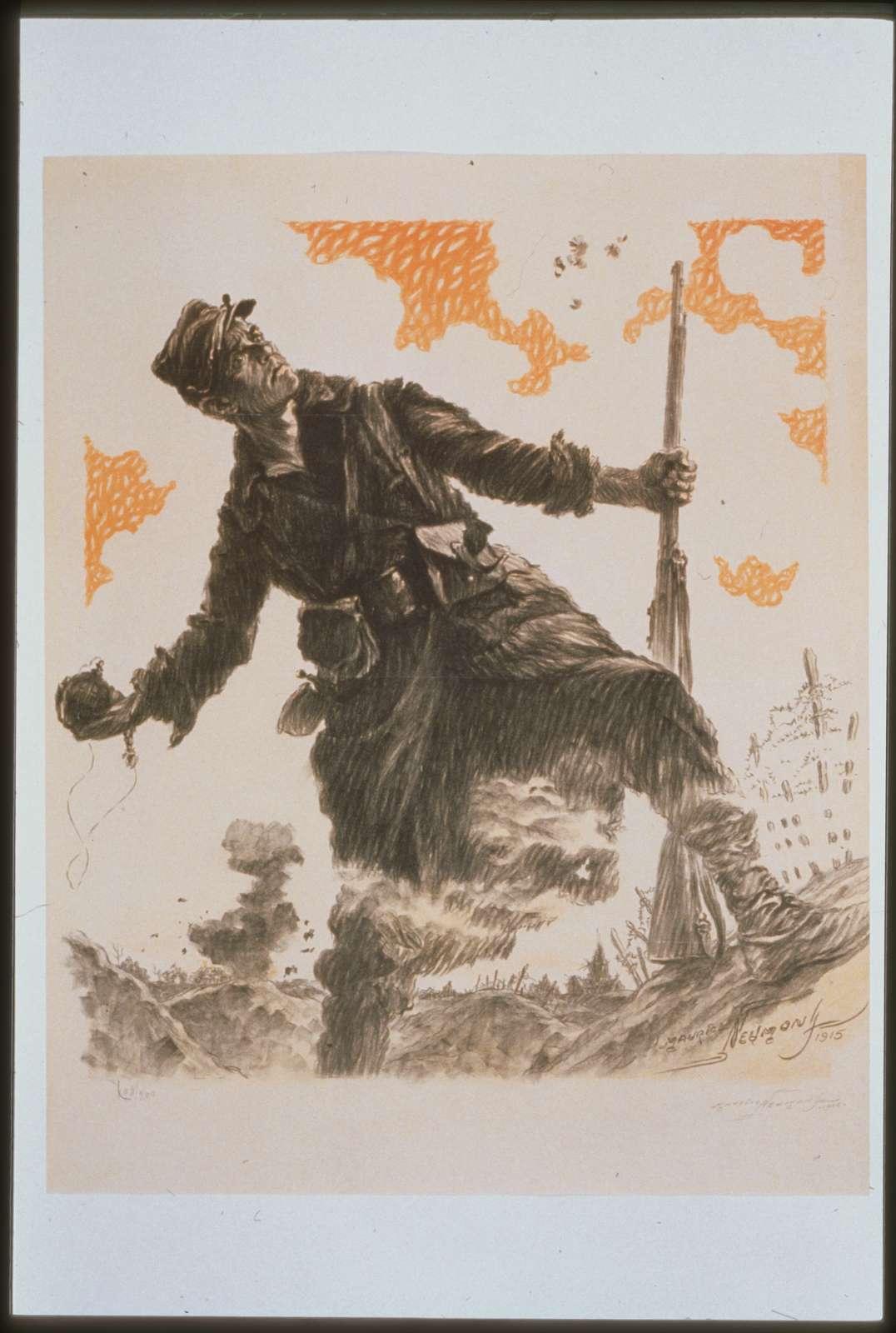 Journée du Poilu. 25 et 26 décembre 1915. Organisée par le   parlement
