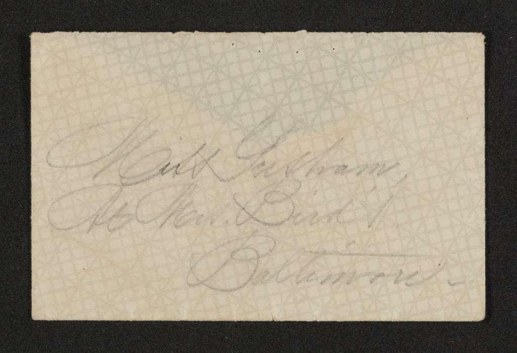 Lewis H. Machen Family Papers: Gresham Family Correspondence, 1834-1925; undated