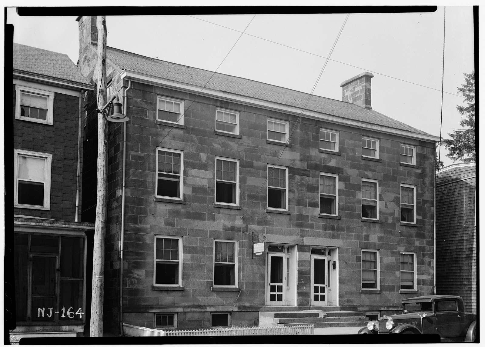 Matches-Beattie House, 53-55 Main Street, Little Falls, Passaic County, NJ