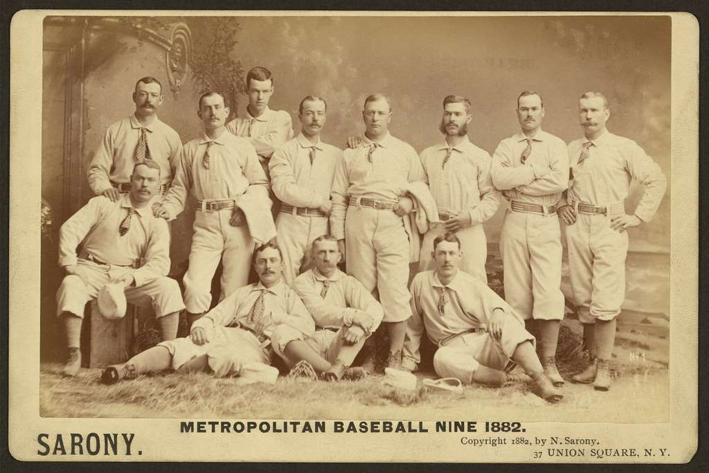 Metropolitan baseball nine 1882
