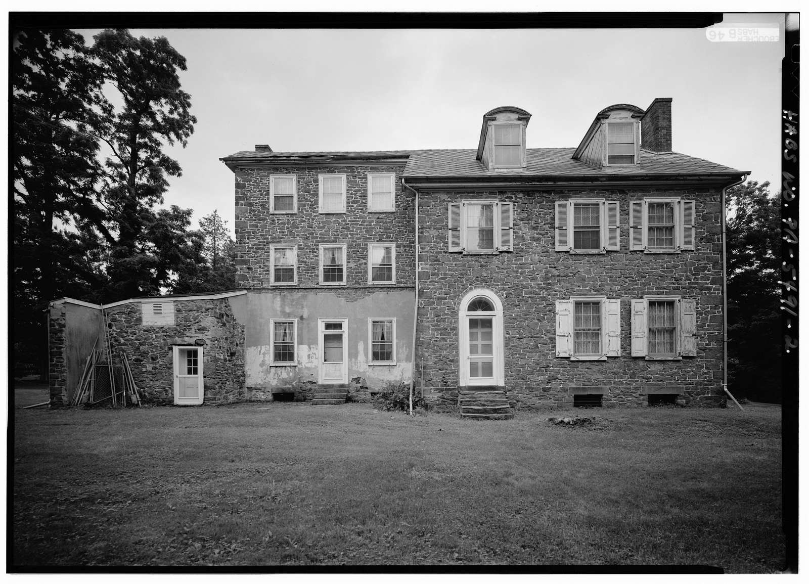 Naylor House, Swift & Silver Lake Roads (Middletown Township), Langhorne, Bucks County, PA
