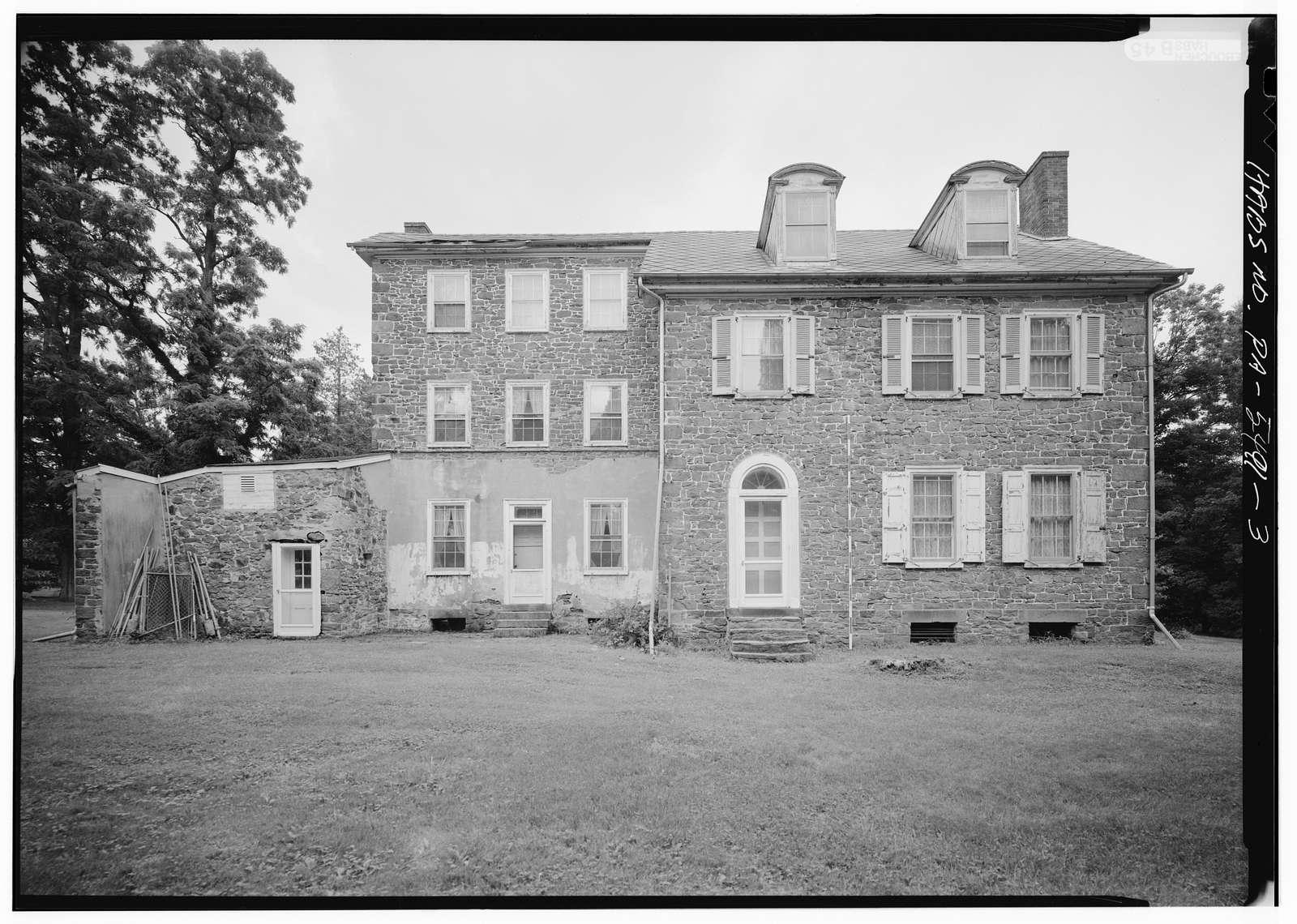 Naylor House, Swift & Silver Lake Roads (Middletown Township), Langhorne, Bucks County, PA