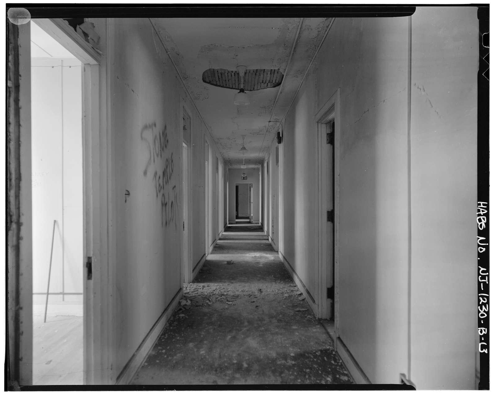 New Jersey State Tuberculosis Sanatorium, Employee Dormitory, Pavilion Road, .3 mile west of intersection with Sanatorium Road, Glen Gardner, Hunterdon County, NJ