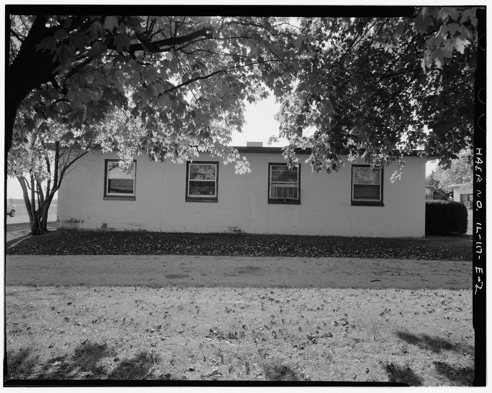 NIKE Missile Base SL-40, Barracks No. 2, North end of base, southeast of Barracks No. 1 & northeast of Mess Hall, Hecker, Monroe County, IL