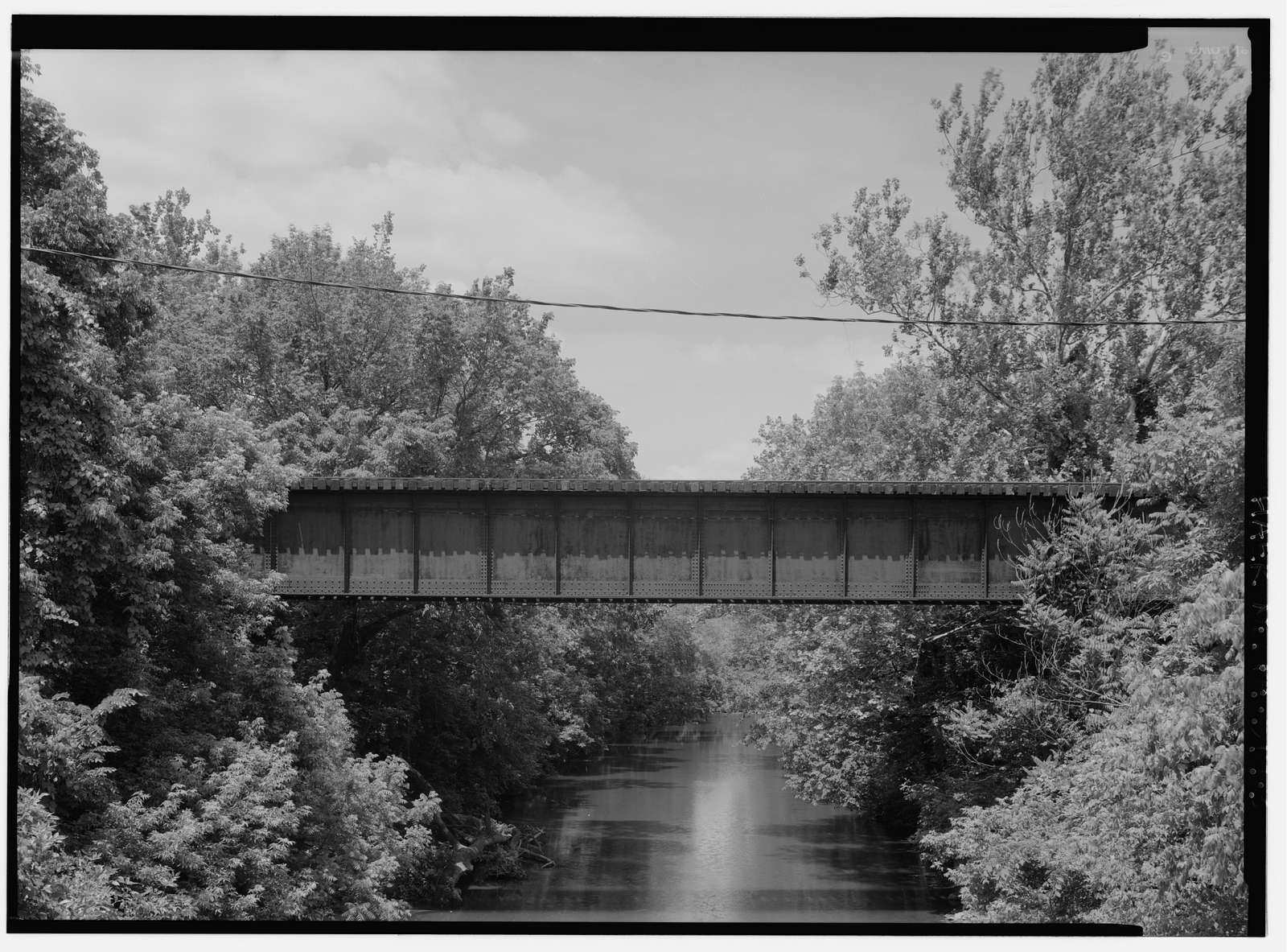 Pennsylvania Railroad, French Creek Trestle, Spanning French Creek, north of Paradise Street, Phoenixville, Chester County, PA