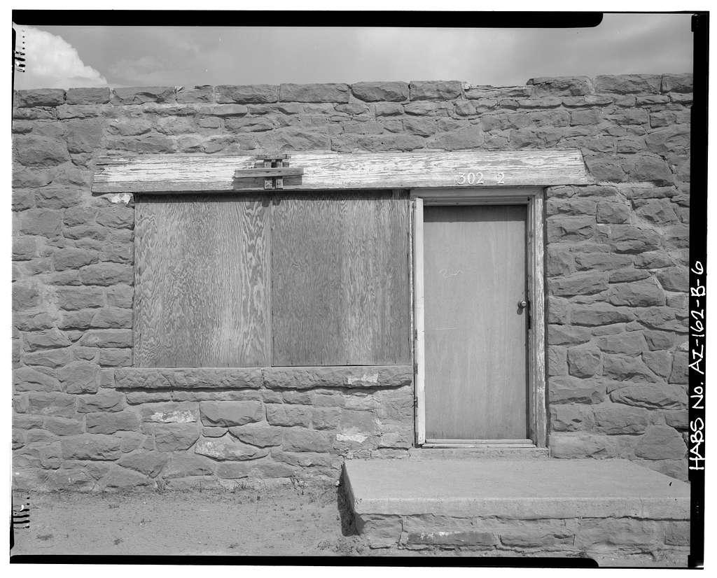 Pinon Boarding School, Staff Quarters, Navajo Route 41, North of Navajo Route 4, Pinon, Navajo County, AZ