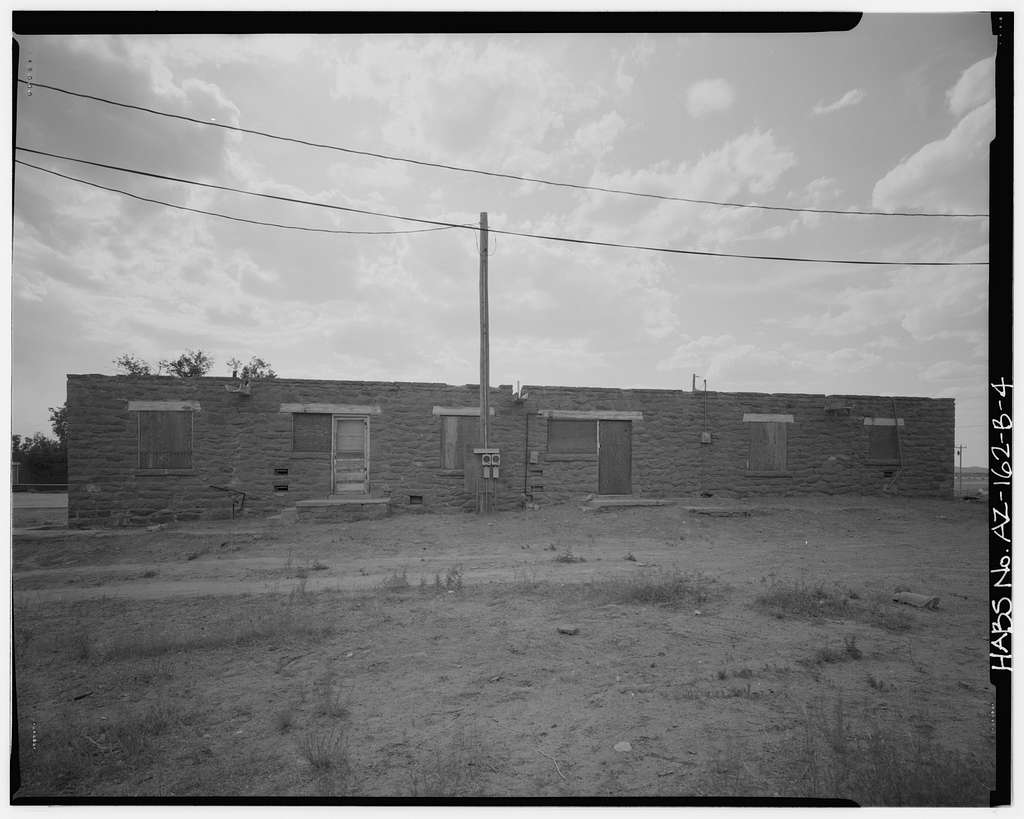 Pinon Boarding School, Staff Quarters, Navajo Route 41, North of Navajo Route 4, Pinon, Navajo County, AZ