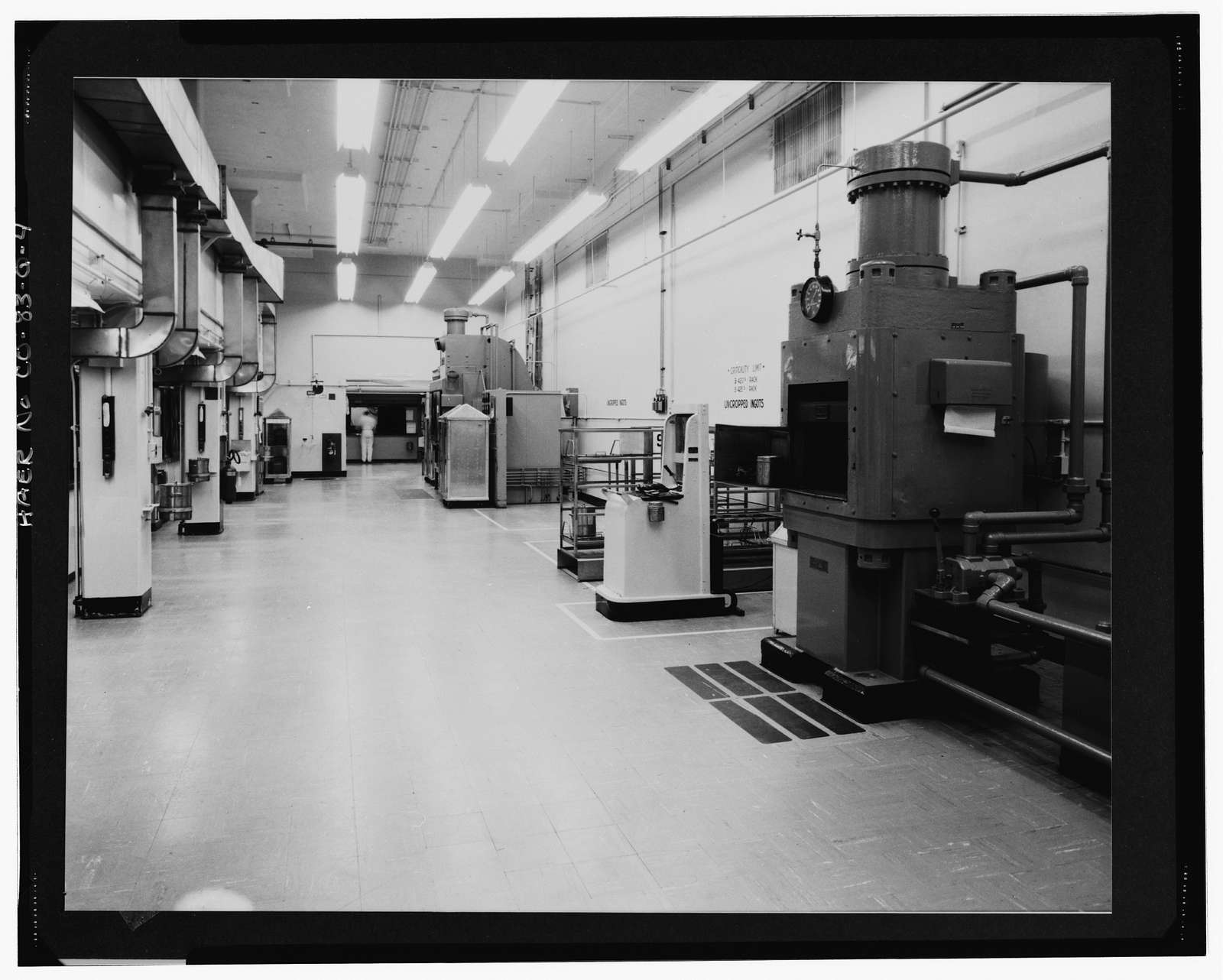 Rocky Flats Plant, General Manufacturing, Support, Records-Central Computing, Southern portion of Plant, Golden, Jefferson County, CO