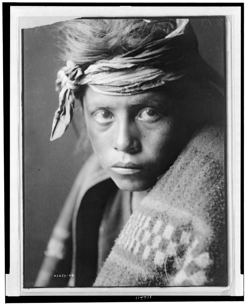 The youth from the desert land--Navaho