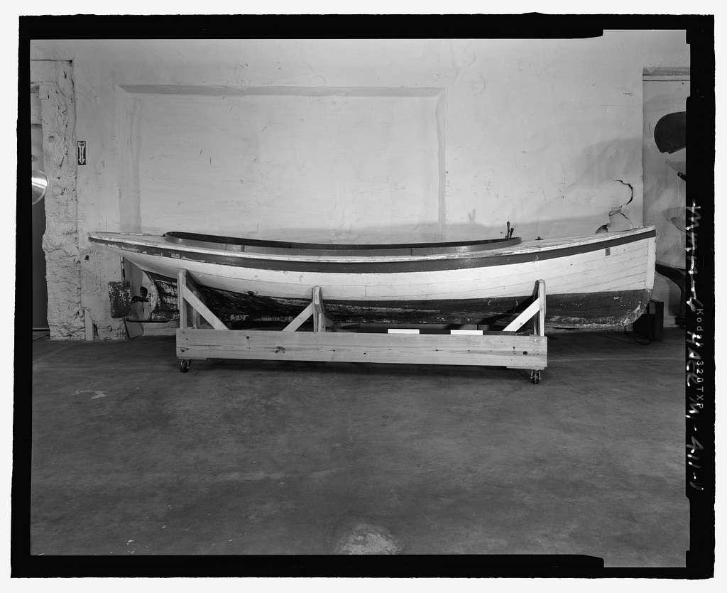 Truscott Fantail Launch, Michigan Maritime Museum, South Haven, Van Buren County, MI