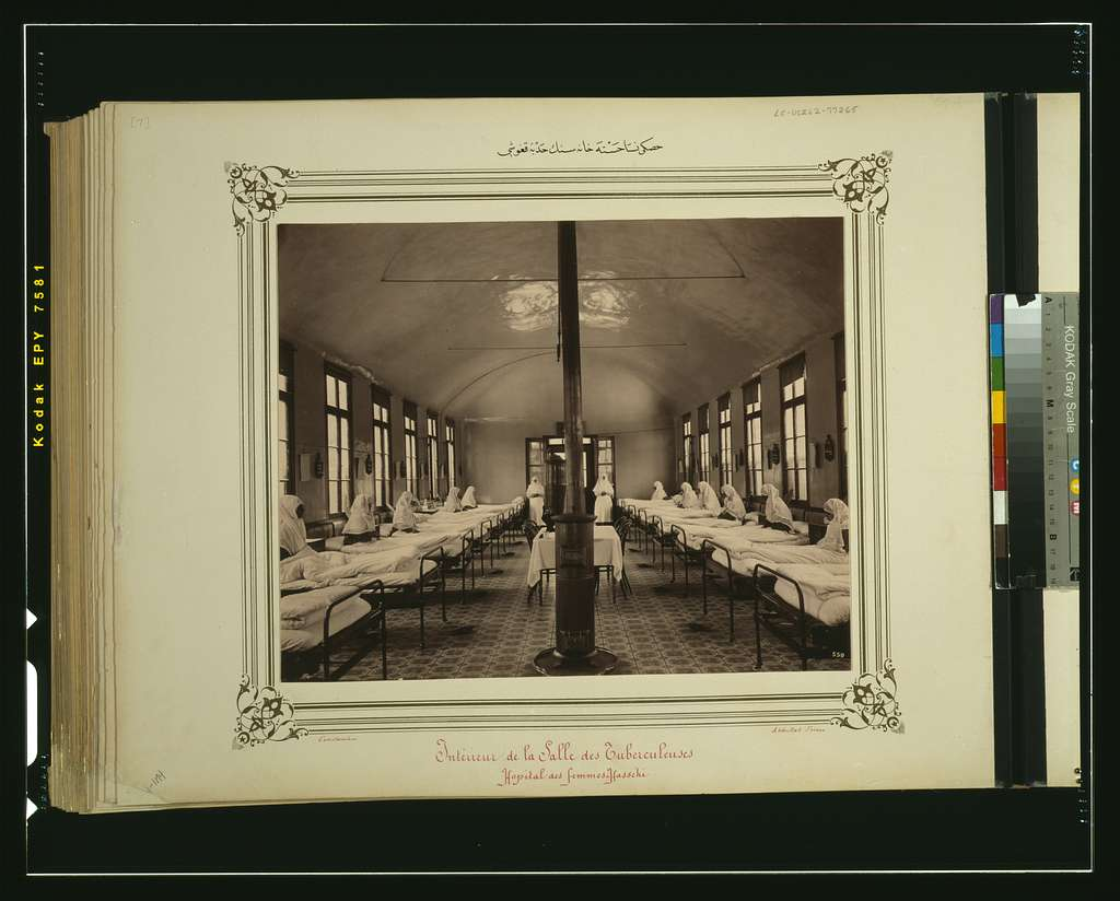 [Tuberculosis ward of the Hasköy Hospital for Women] / Constantinople, Abdullah Frères.