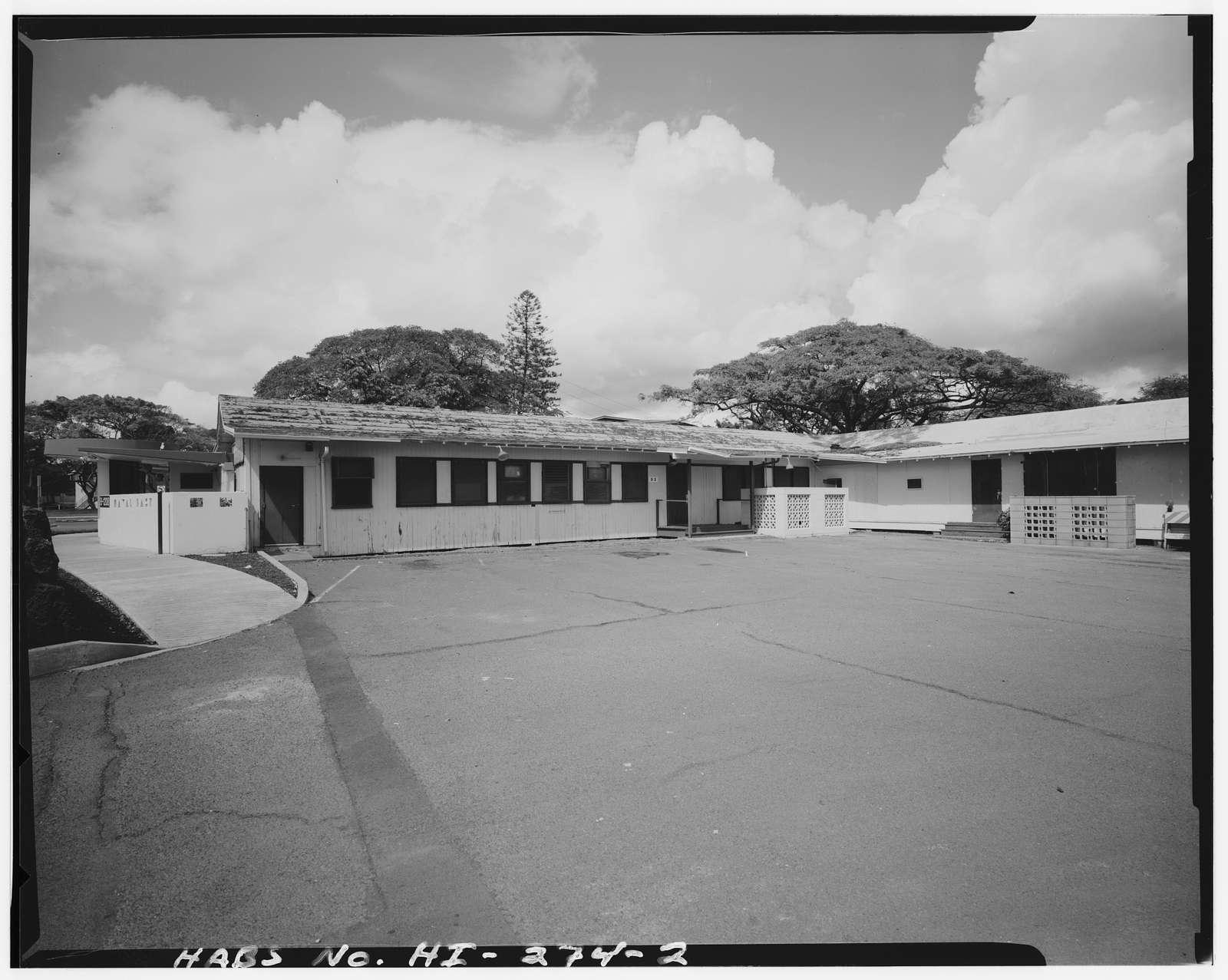 U.S. Naval Base, Pearl Harbor, Alcohol Rehabilitation Center, Nimitz Spur between Sixth Street & Naval Station North Road, Pearl City, Honolulu County, HI