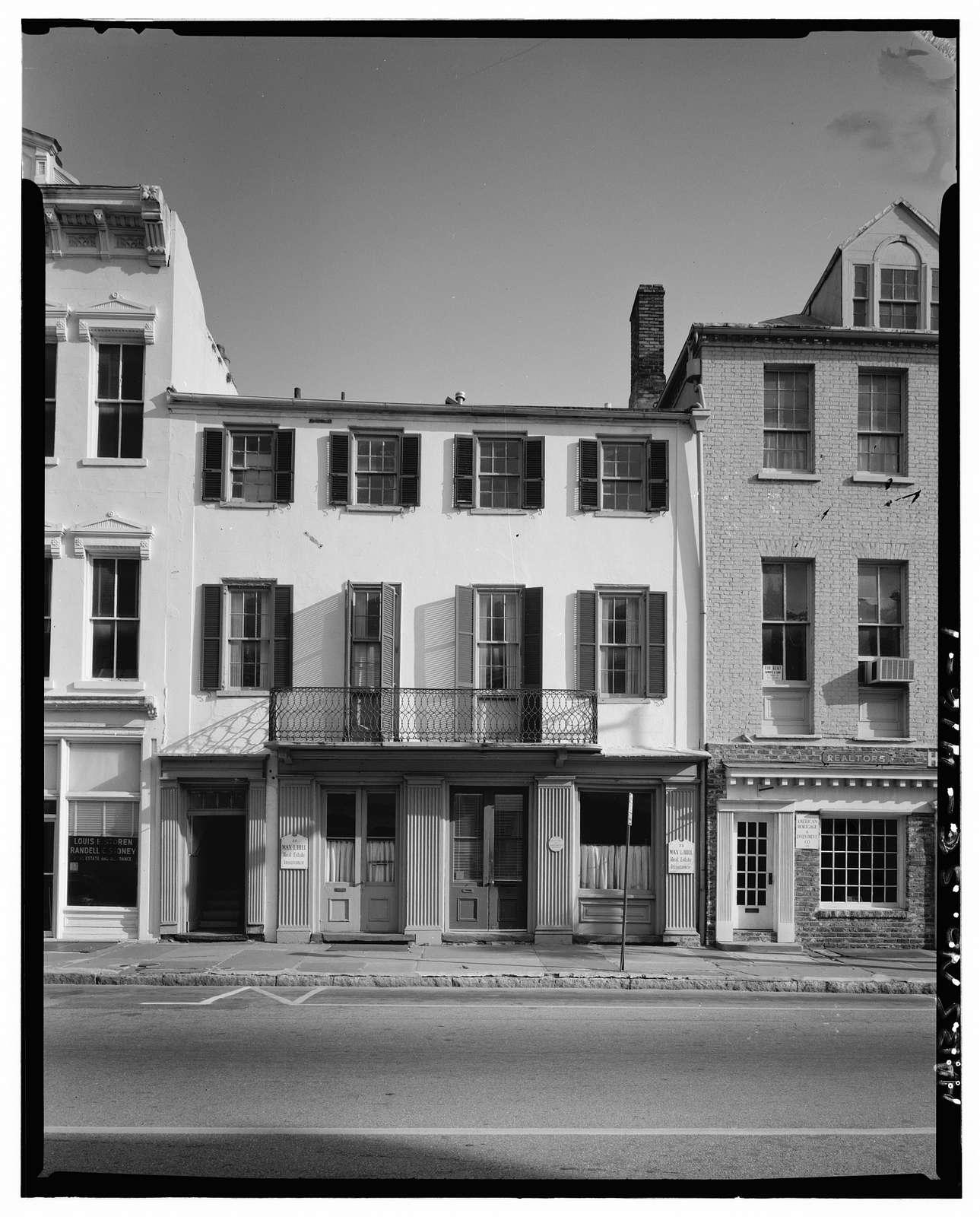 33 Broad Street (House), Charleston, Charleston County, SC