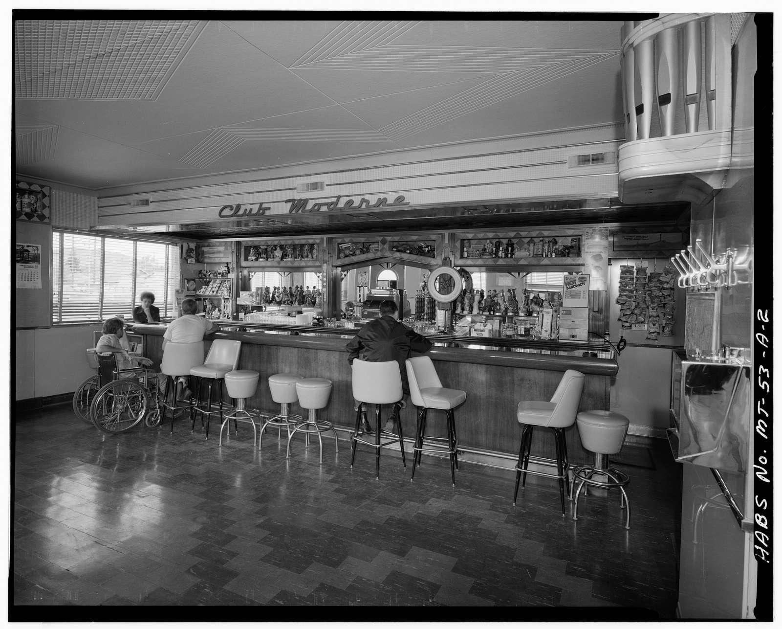 Anaconda Historic District, Club Moderne, 801 East Park Avenue, Anaconda, Deer Lodge County, MT