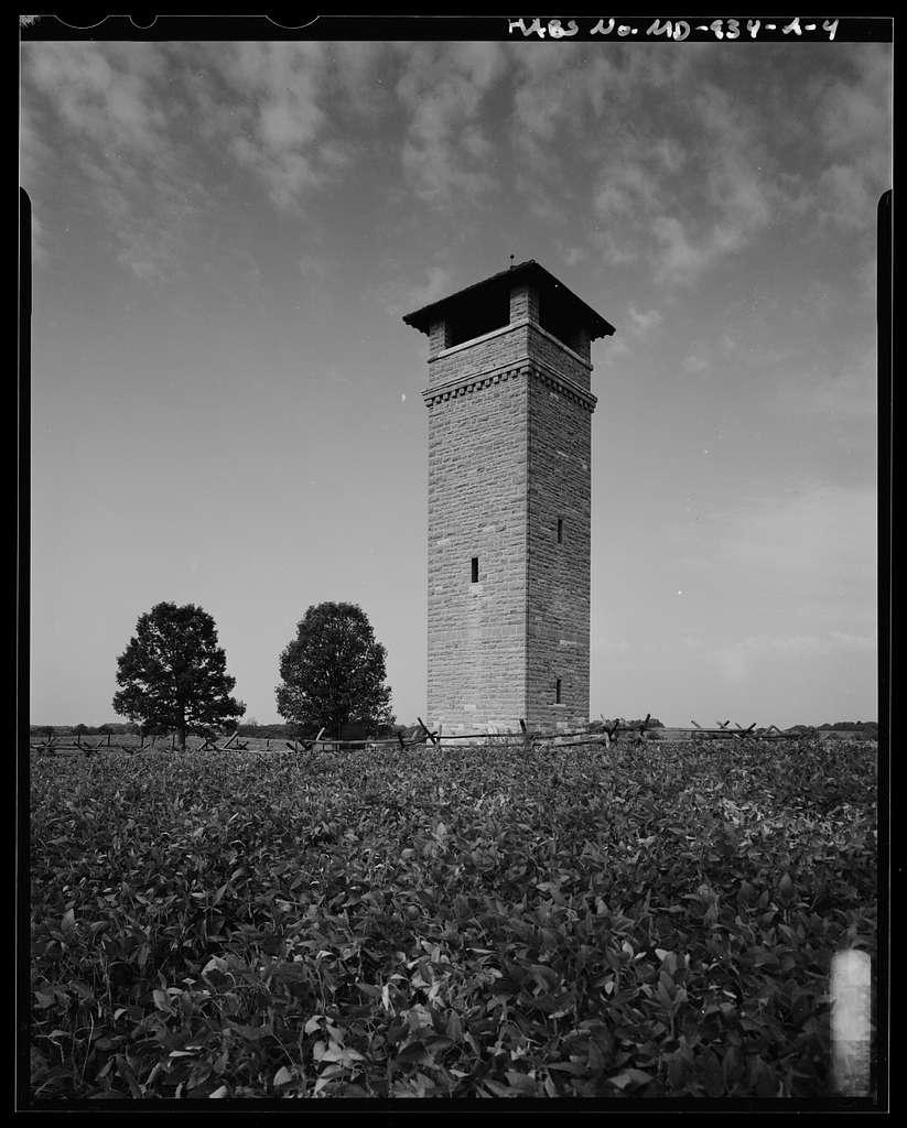 Antietam National Battlefield, Observation Tower, Richardson Avenue, Sharpsburg, Washington County, MD