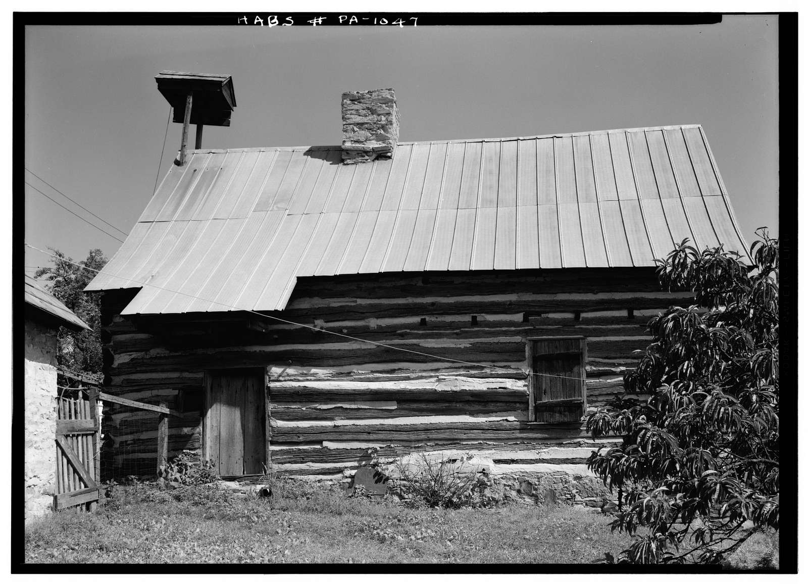 Bertolet-Herbein Cabin, Oley Line (Oley Township), Oley Line, Berks County, PA