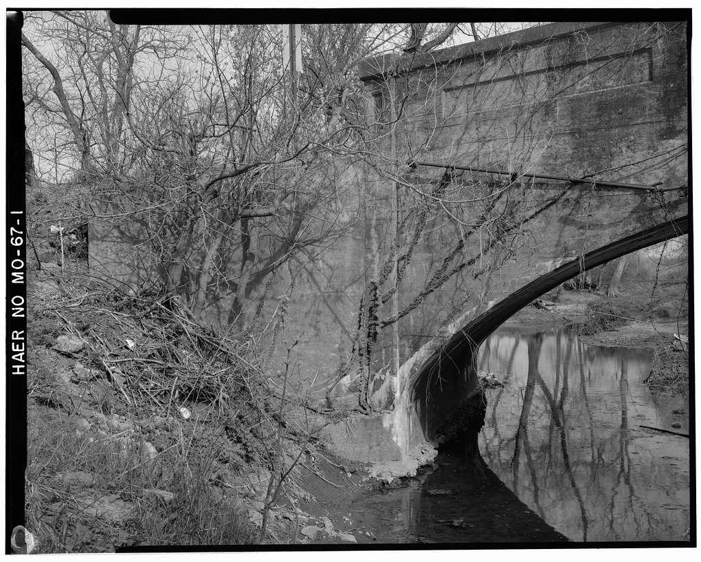Bridge No. 2415, Spanning Wilson Creek at Farm Road 156, Springfield, Greene County, MO