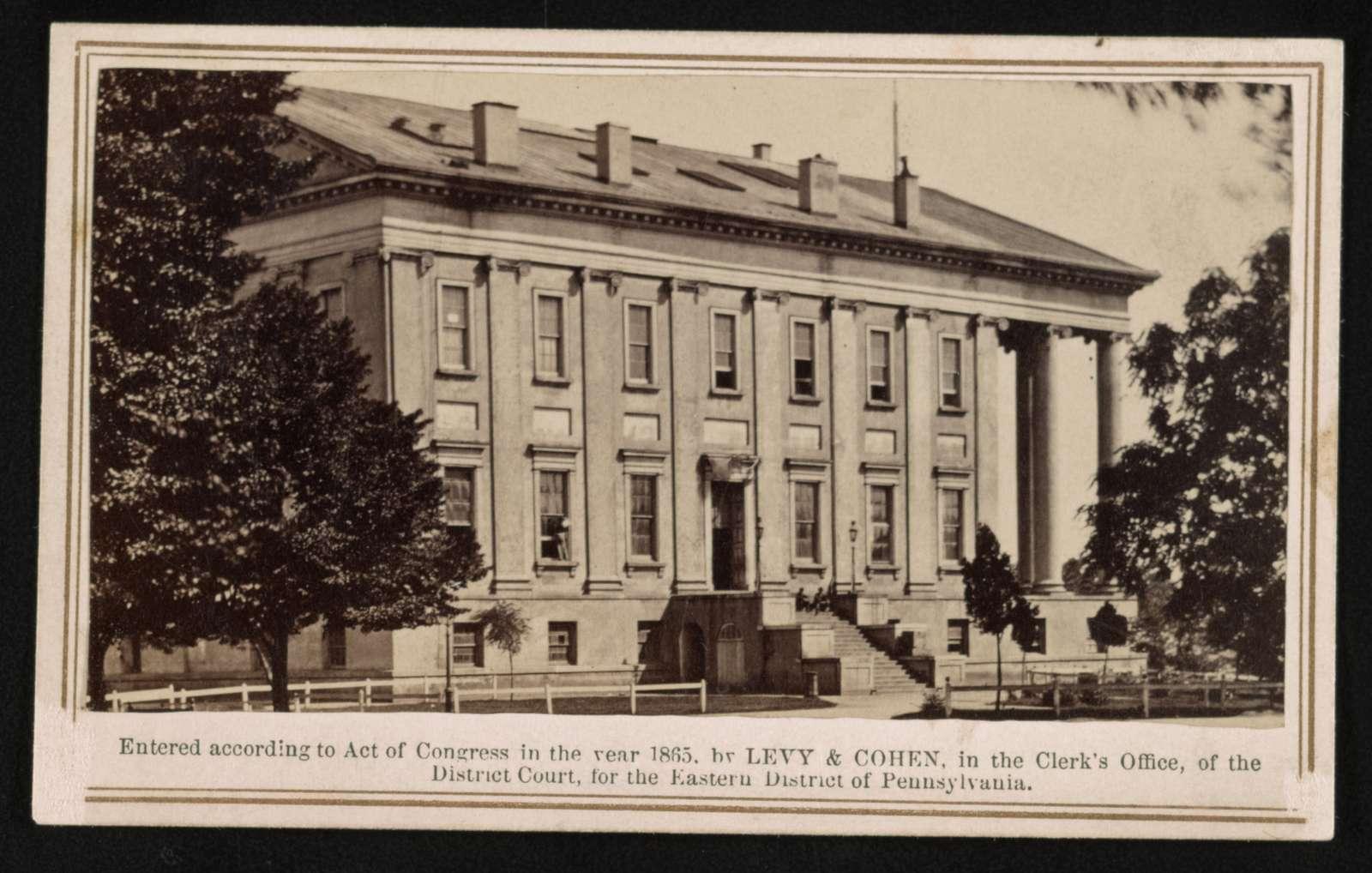 Capitol building / Levy & Cohen.