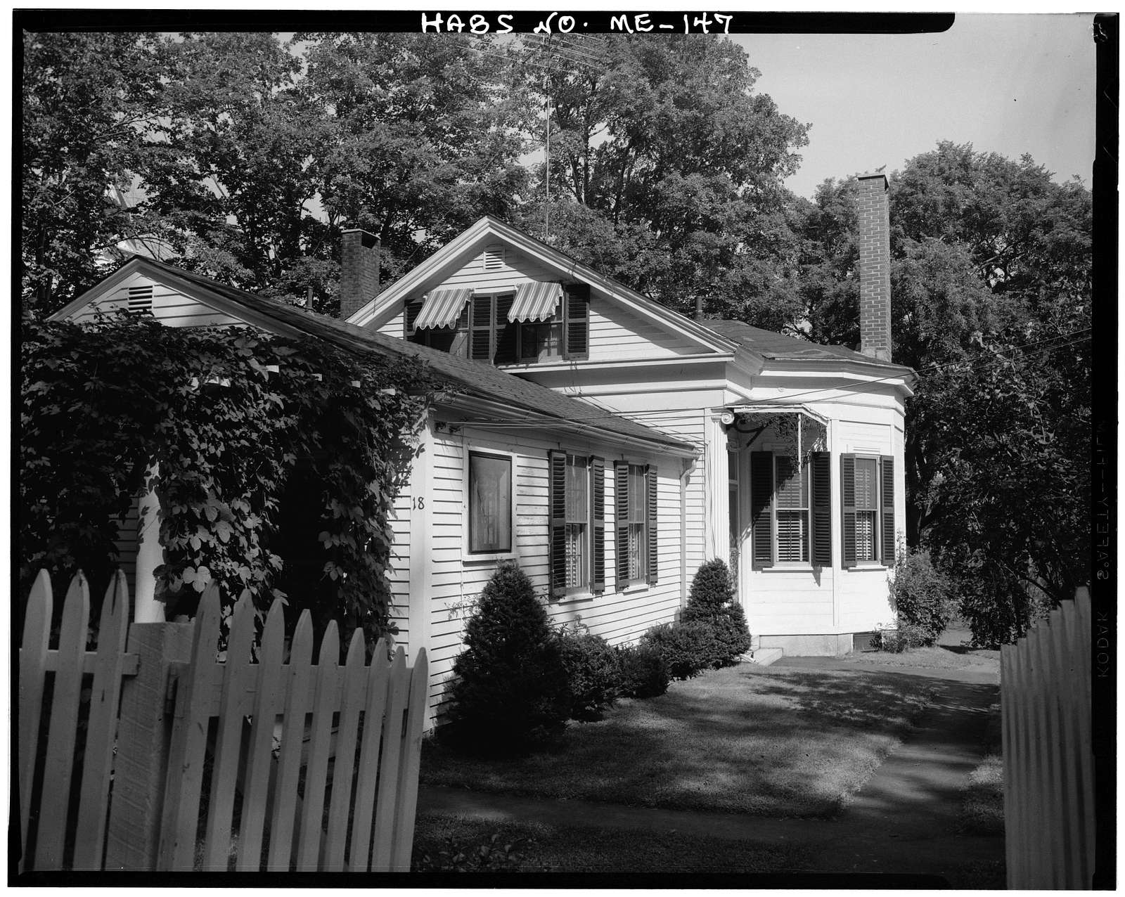 Captain Abraham Thing House, 159 Second Street, Hallowell, Kennebec County, ME