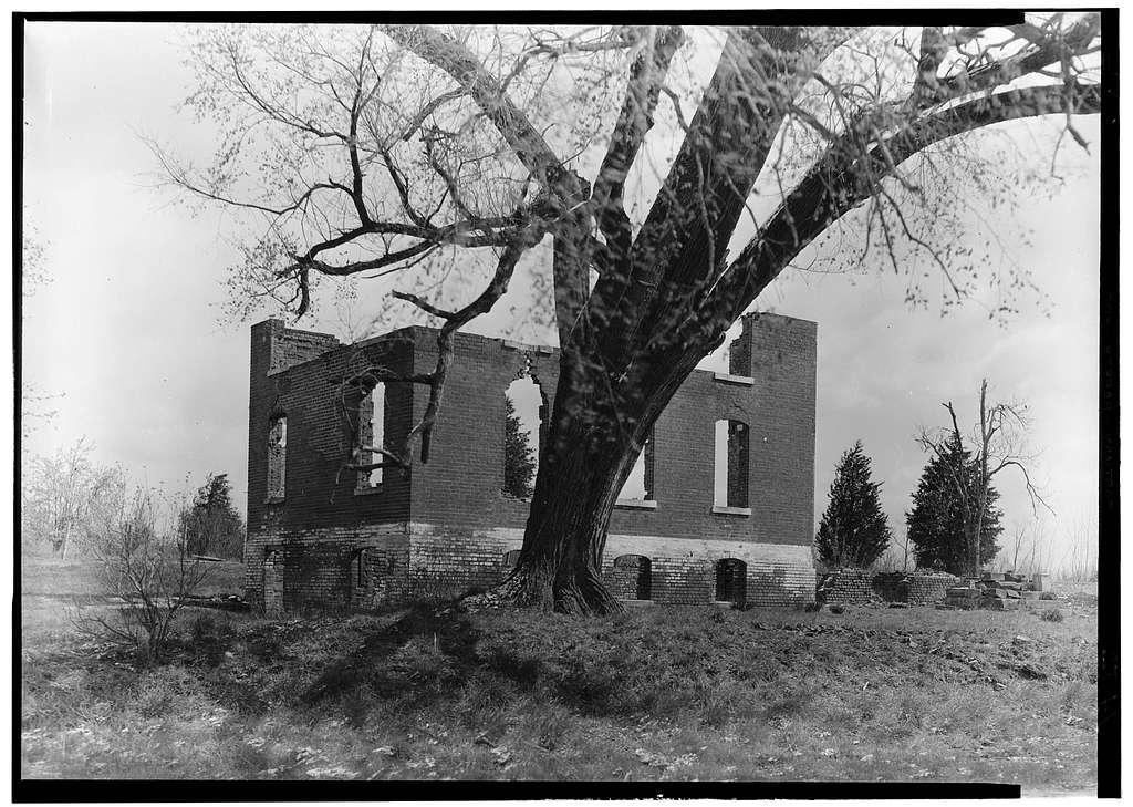 Chancellorsville (Ruins), State Routes 3 & 610, Chancellorsville, Spotsylvania County, VA