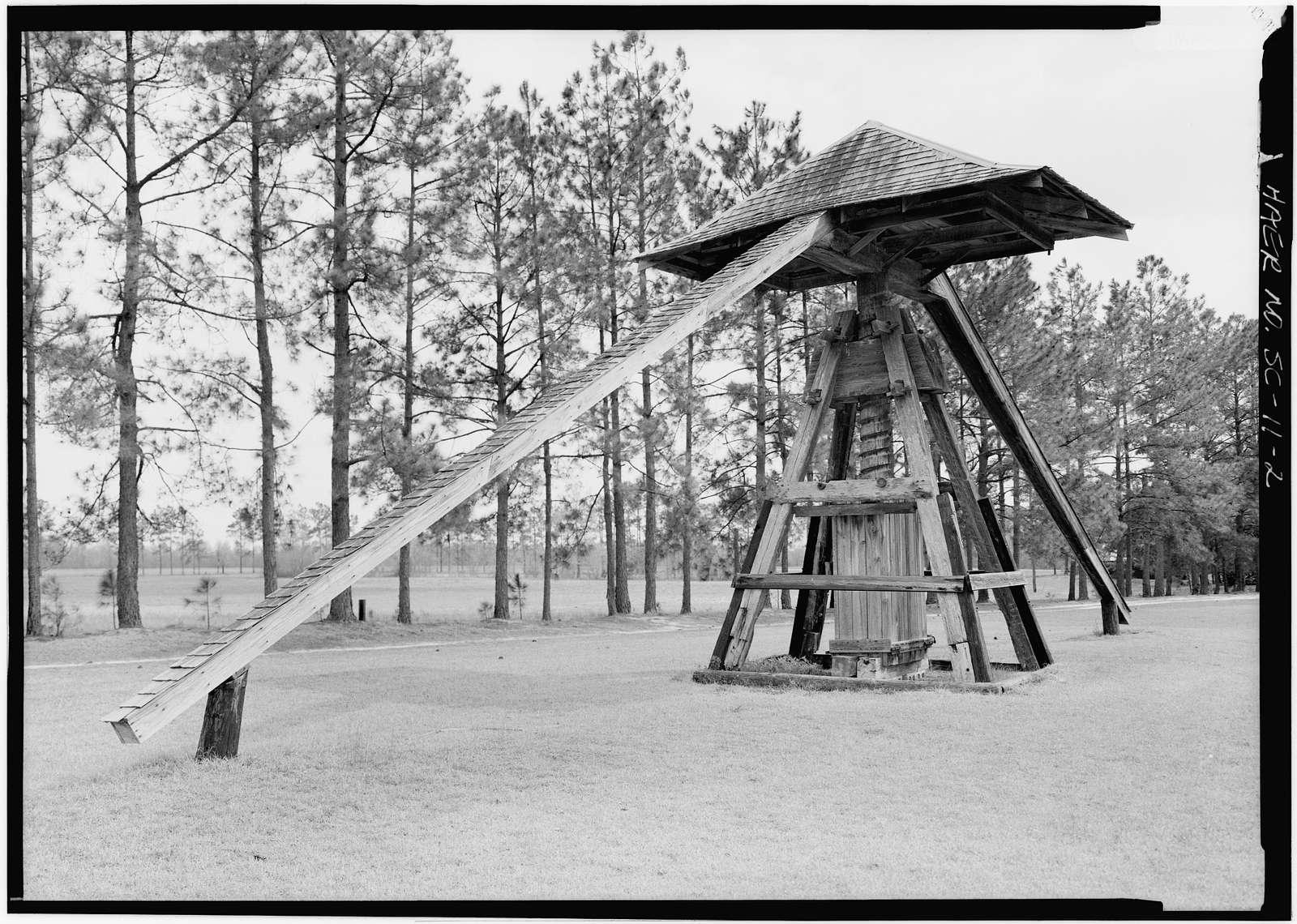 Cotton Press, Near Routes 917 & 38, moved from Berry's Crossroads, Latta, Dillon County, SC