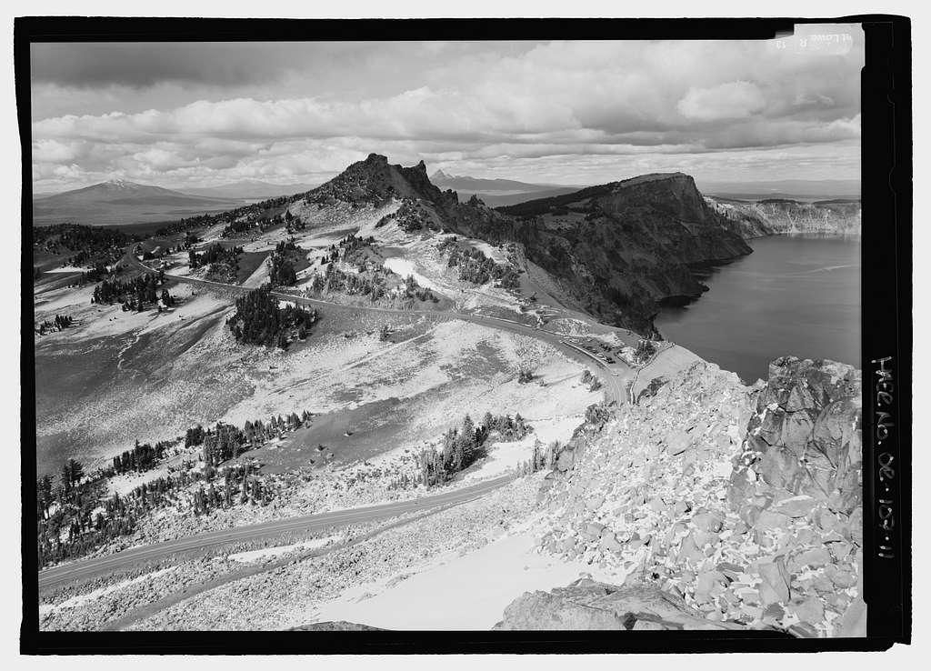 Crater Lake National Park Roads, Klamath Falls, Klamath County, OR