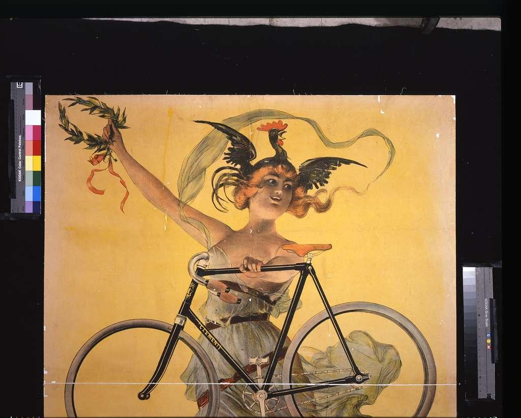 Cycles Clément, Paris; Pneu Dunlop / / PAL.