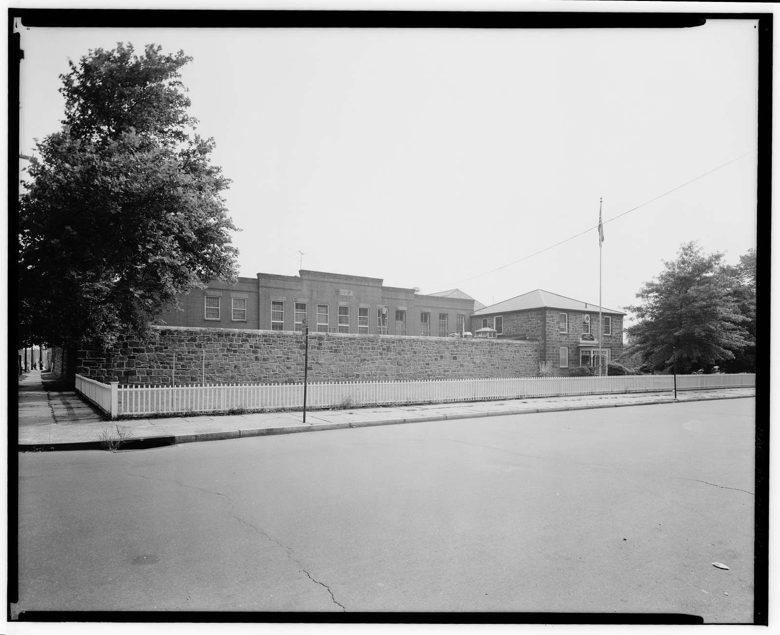 Essex County Jail, Newark, New & Wilsey Streets, Newark, Essex County, NJ