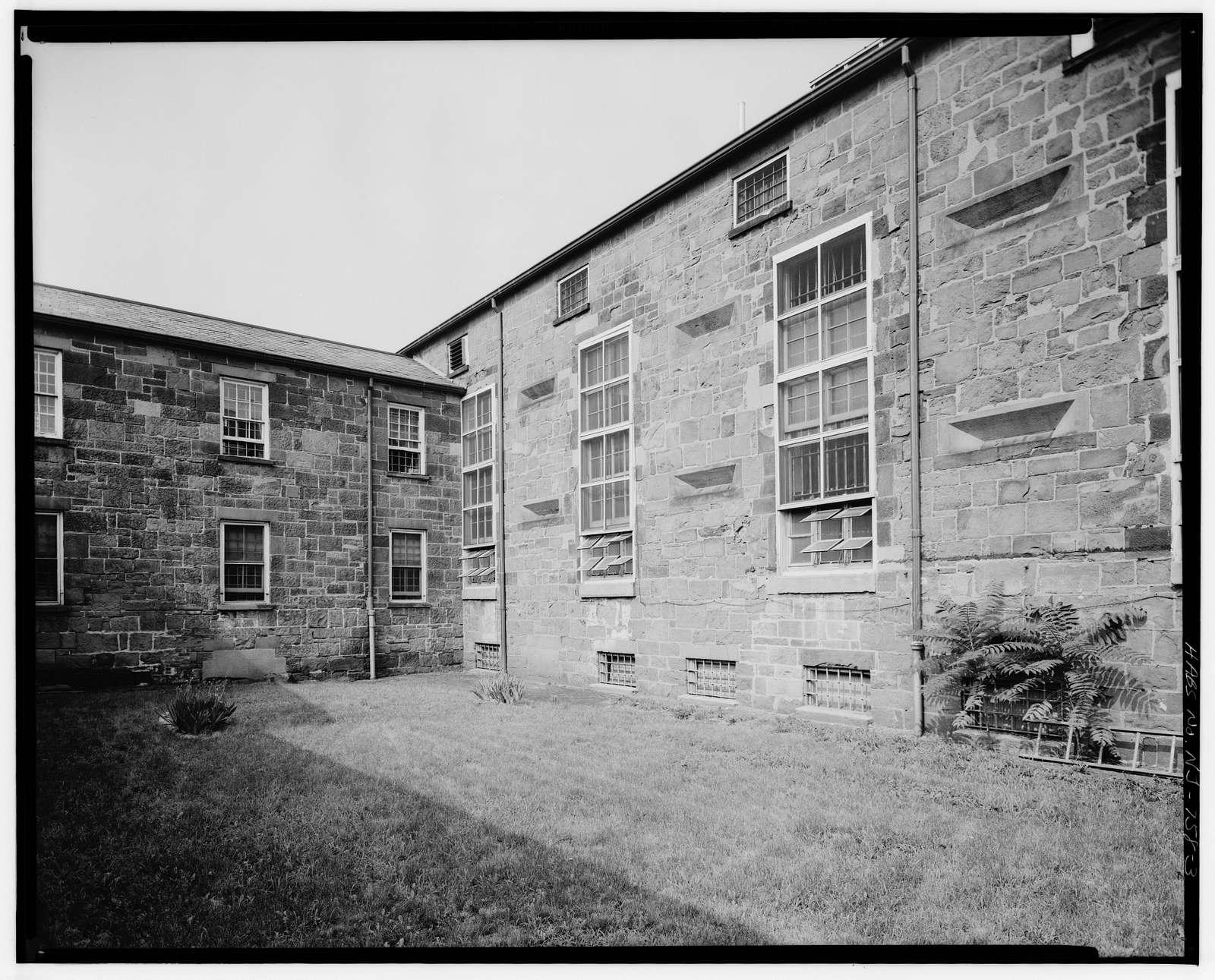 Essex County Jail, Newark, New & Wilsey Streets, Newark, Essex County, NJ