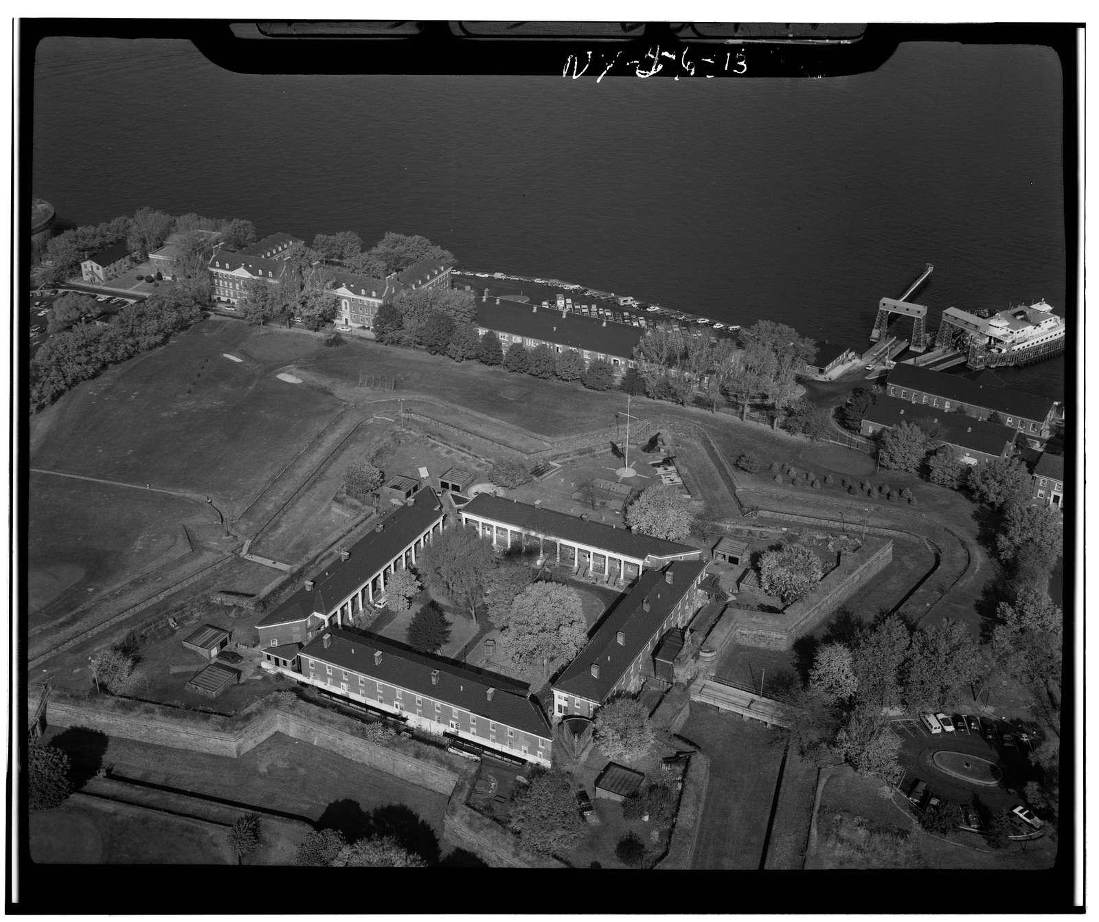 Governors Island, Fort Columbus, New York Harbor, New York, New York County, NY