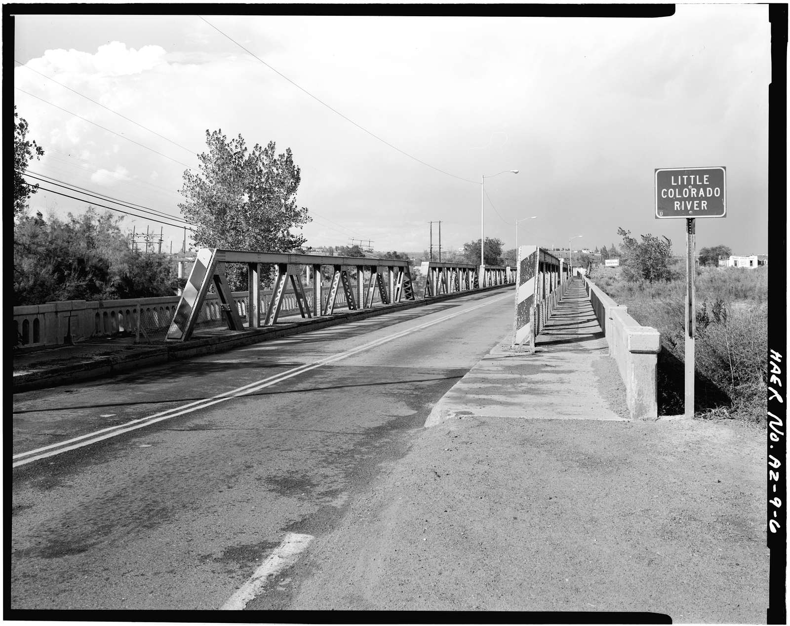 Holbrook Bridge, Spanning Little Colorado River at AZ 77, Holbrook, Navajo County, AZ