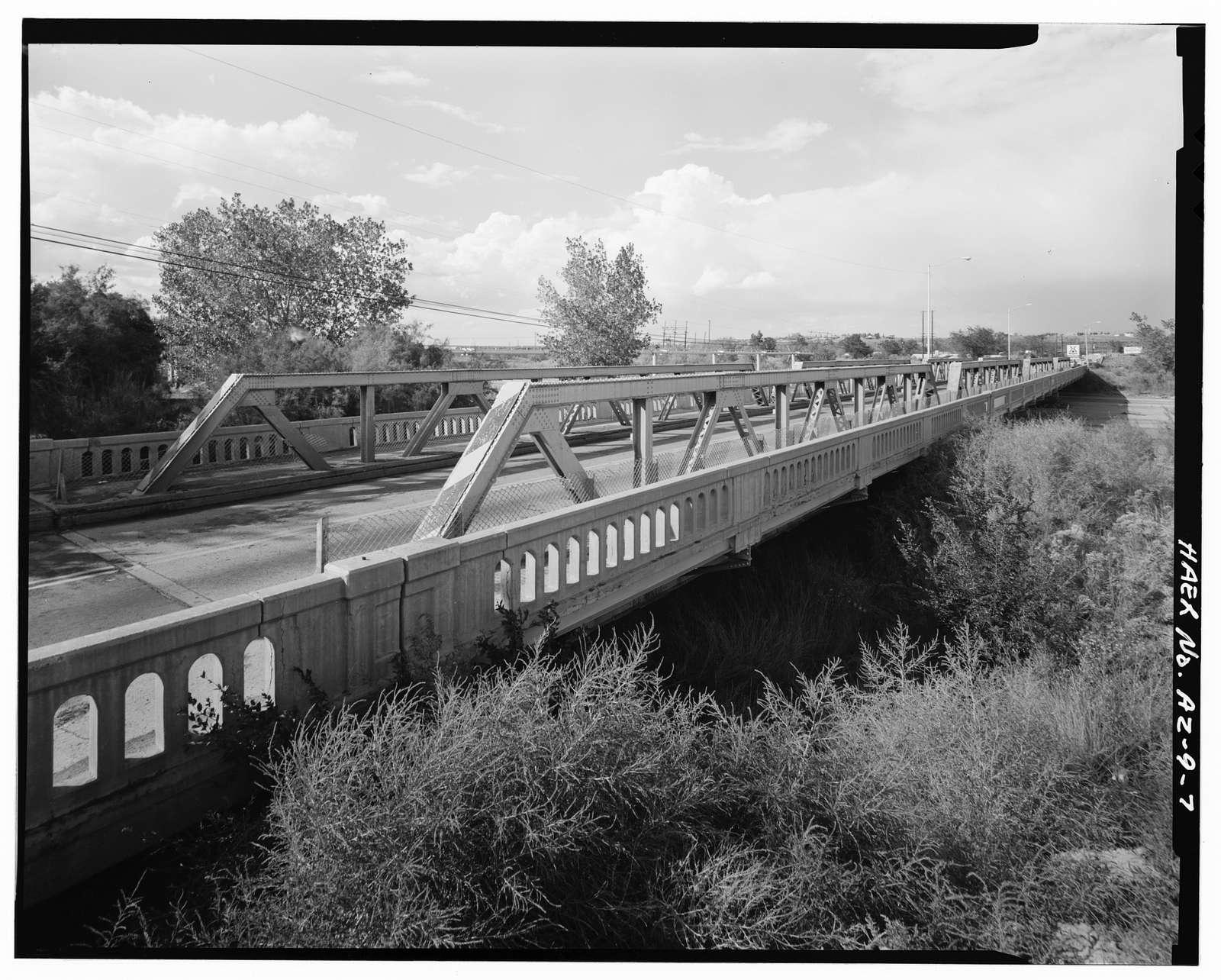 Holbrook Bridge, Spanning Little Colorado River at AZ 77, Holbrook, Navajo County, AZ