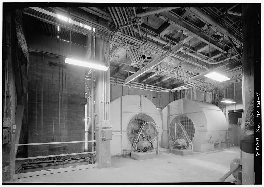 Holland Tunnel, Beneath Hudson River between New York & Jersey City, New York, New York County, NY