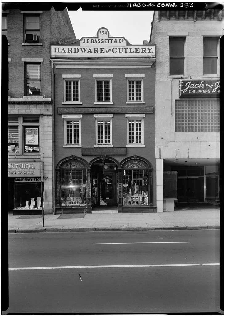 John E. Bassett & Company, 754 Chapel Street, New Haven, New Haven County, CT