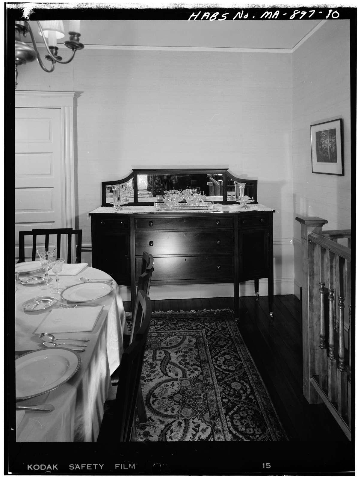 John Fitzgerald Kennedy Birthplace, 83 Beals Street, Brookline, Norfolk County, MA